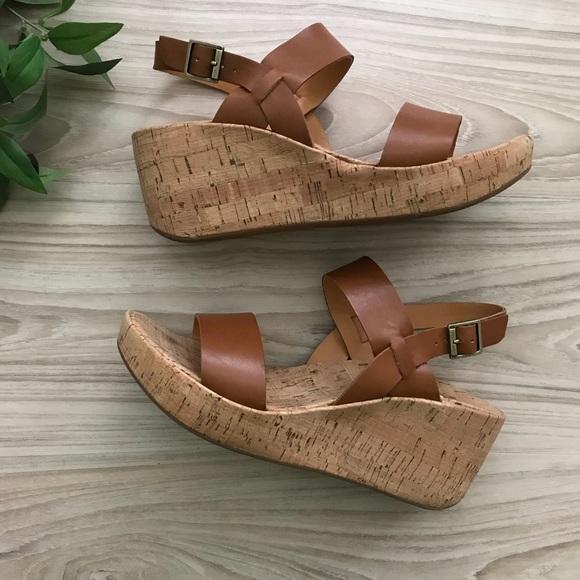 620425128ff Kork-Ease Shoes - • Korks by Kork-Ease • Tome Wedge Sandal Sz